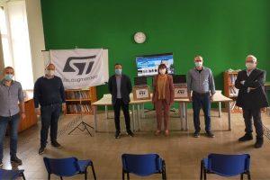 STMicroelectronics e Valdisavoia